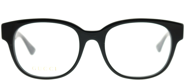 Gucci GG 0040O 001 Square Plastic Black Eyeglasses with Demo Lens