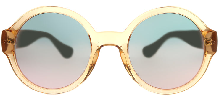Havaianas HA Floripa/M Round Plastic Pink Sunglasses with Rose Gold Mirror Lens