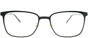 Gucci GG 0294O 002 Rectangle Metal Black Eyeglasses with Demo Lens