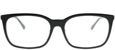 Gucci GG 0333OA 001 Rectangle Plastic Black Eyeglasses with Demo Lens