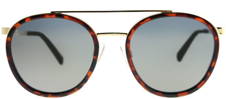 Polaroid PLD 6032/S 086 LM Round Metal Tortoise/ Havana Sunglasses with Gold Mirror Polarized Lens