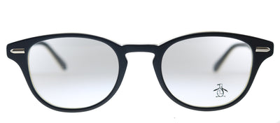 Original Penguin PE Murphy BK Round  Plastic Black Eyeglasses with Demo Lens