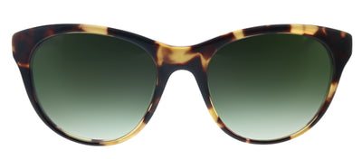 Lilly Pulitzer LP Jupiter TO Cat-Eye Plastic Tortoise Sunglasses with Green Gradient Lens