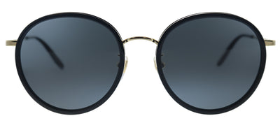 Gucci GG 0677SK 001 Round Metal Black Sunglasses with Grey Lens