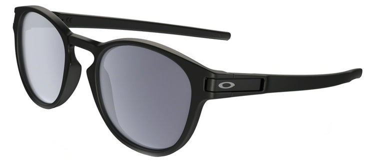 Oakley Latch OO 9265 9265-01 Sport Plastic Black Sunglasses with Grey Lens