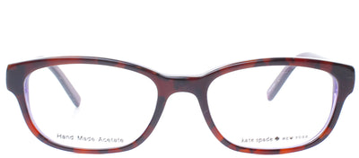 Kate Spade KS Blakely JLG Fashion Plastic Tortoise/ Havana Eyeglasses with Demo Lens