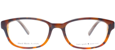 Kate Spade KS Blakely JMD Fashion Plastic Tortoise/ Havana Eyeglasses with Demo Lens