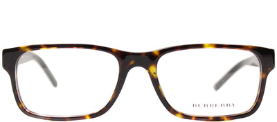 Burberry BE 2150 3002 Rectangle Plastic Tortoise/ Havana Eyeglasses with Demo Lens