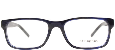 Burberry BE 2150 3419 Rectangle Plastic Blue Eyeglasses with Demo Lens