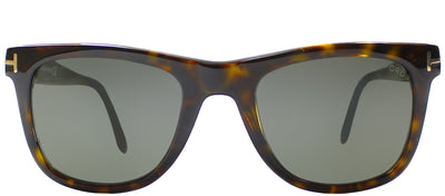 Tom Ford TF 336 56R Wayfarer Plastic Brown Sunglasses with Green Polarized Lens