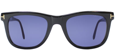Tom Ford TF 336 01V Wayfarer Plastic Black Sunglasses with Blue Lens