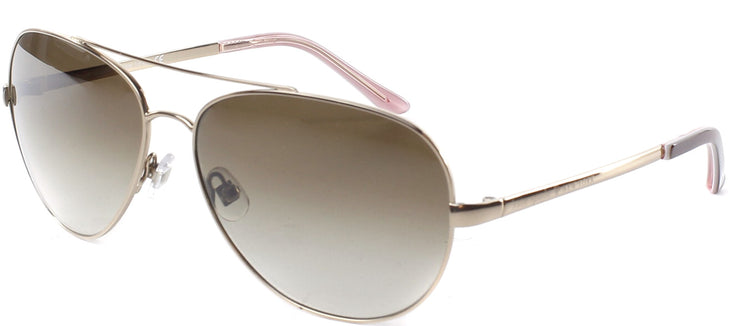 Kate Spade KS Avaline AU2 Aviator Metal Gold Sunglasses with Brown Gradient Lens