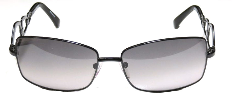 Pucci EP 106 001 Fashion Metal Black Sunglasses with Grey Lens