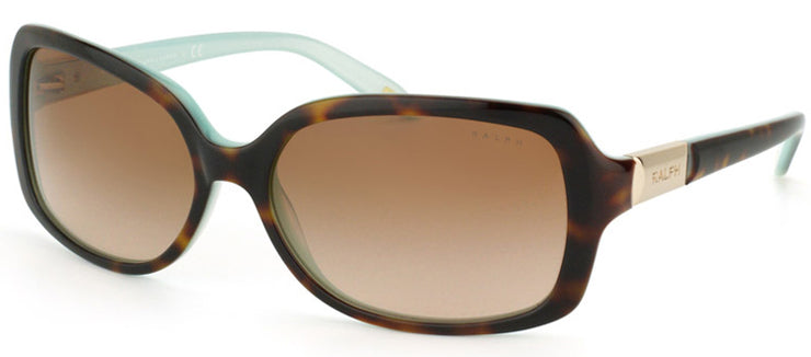 Ralph by Ralph Lauren RA 5130 601/13 Fashion Plastic Tortoise/ Havana Sunglasses with Brown Gradient Lens