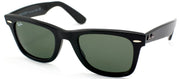 Ray-Ban RB 2140 901 Original Wayfarer Plastic Black Sunglasses with Grey Lens