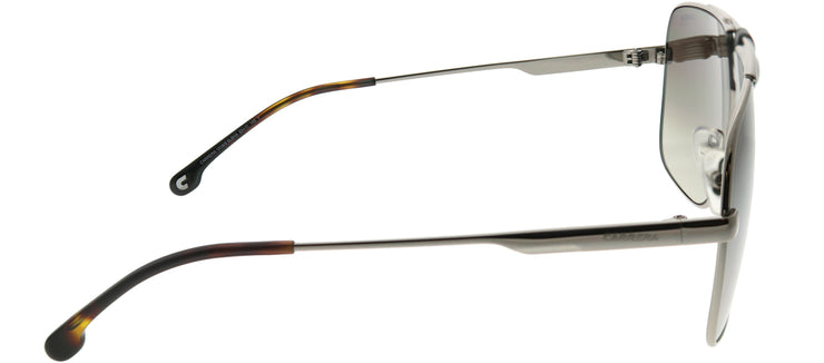 Carrera CA Carrera1018 6LB HA Aviator Metal Ruthenium/ Gunmetal Sunglasses with Brown Gradient Lens