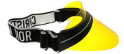 Dior CD DiorClub1 OTL Plastic Black with Yellow Visor