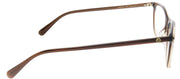 Gucci GG 0549O 004 Round Plastic Brown Eyeglasses with Demo Lens