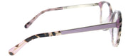 Kate Spade KS Caylen S10 Round Plastic Pink Eyeglasses with Demo Lens