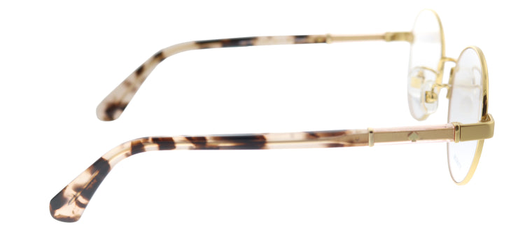 Kate Spade KS Jaelyn/F HT8 Round Metal Gold Eyeglasses with Demo Lens