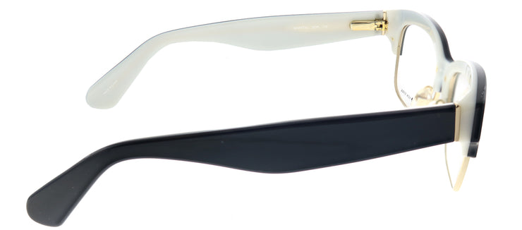 Kate Spade KS Shantal QOP Square Plastic Black Eyeglasses with Demo Lens