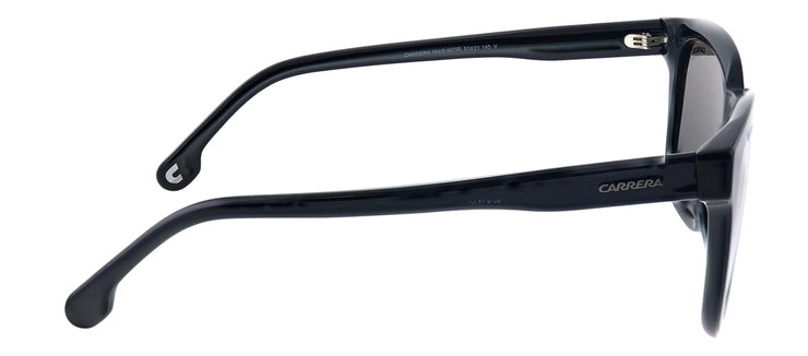 Carrera CA Carrera164 807 IR Rectangle Plastic Black Sunglasses with Grey Polarized Lens