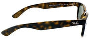 Ray-Ban RB 2132 902 Wayfarer Plastic Tortoise/ Havana Sunglasses with Crystal Green Lens
