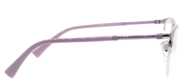 Versace VE 1247 1000 Round Metal Pink Eyeglasses with Demo Lens