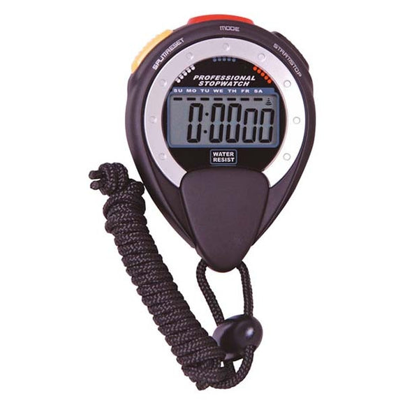 Digital 1/100s Stopwatch With Alarm