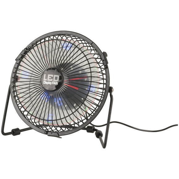 LED Display USB Fan