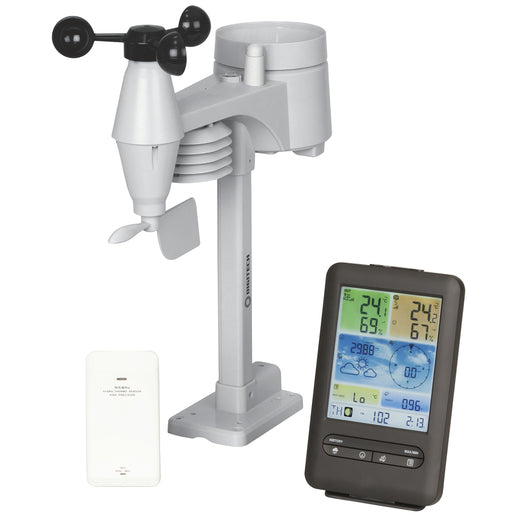 Wireless Digital Weather Station With Colourful LCD Display