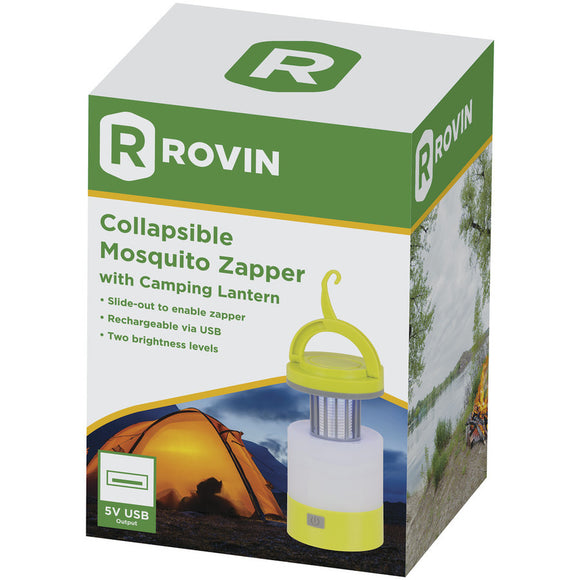 Collapsible Mosquito Zapper with Camping Lantern