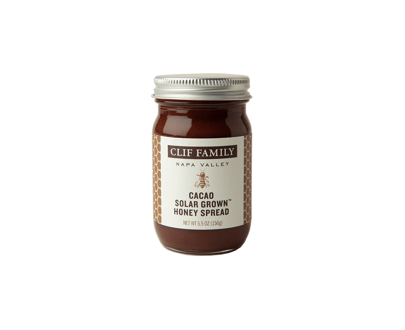 Solar Grown™ Cacao Honey Spread packaging