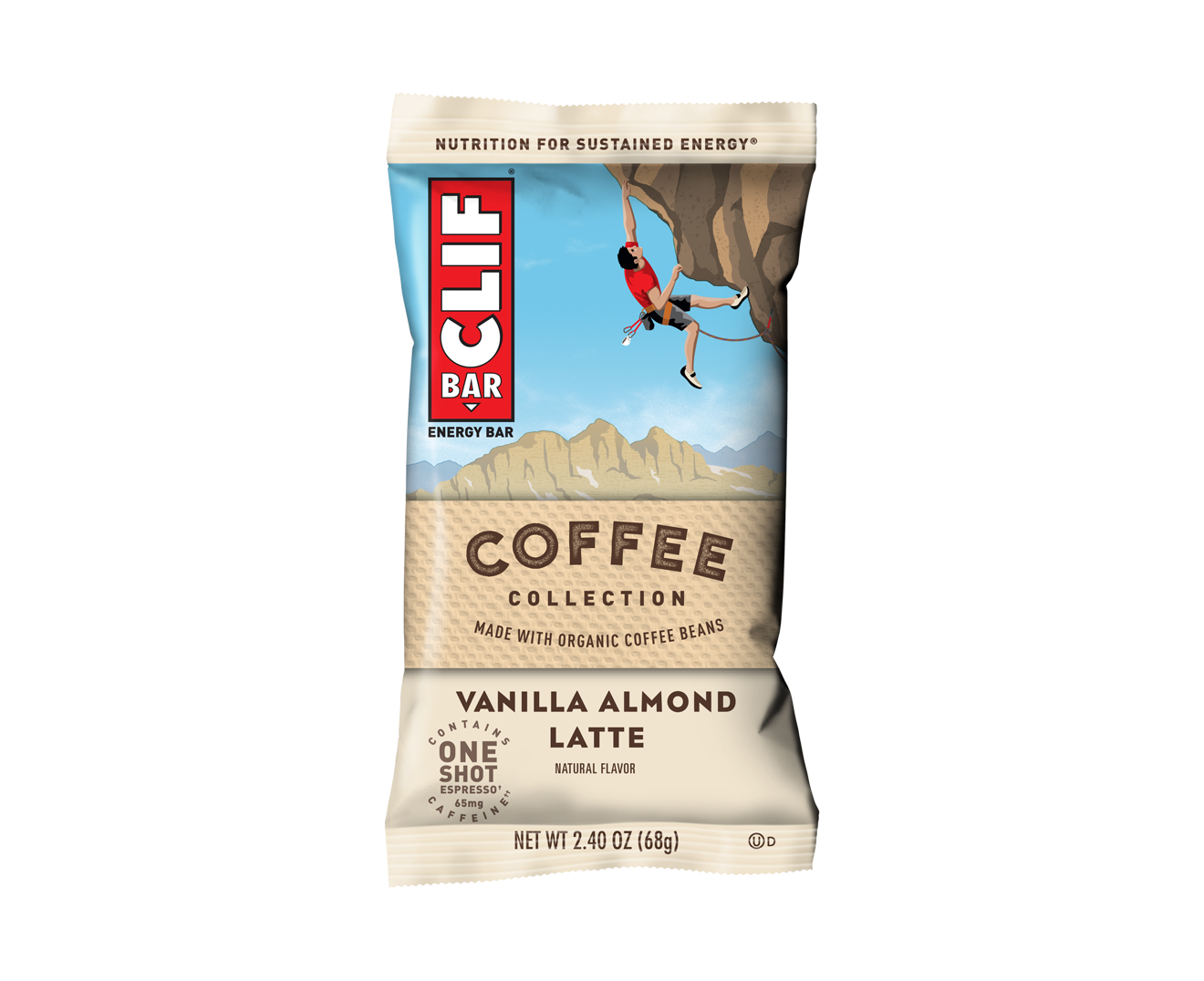 Coffee Collection: Vanilla Almond Latte Flavor packaging