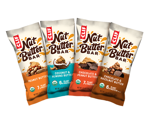 CLIF Nut Butter Bar Variety Pack, 16 Bars packaging
