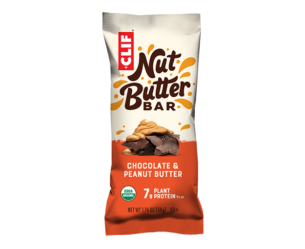 Chocolate & Peanut Butter packaging