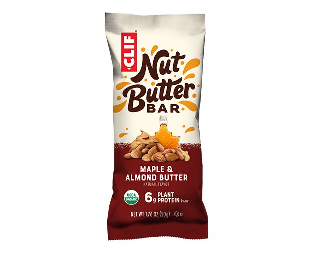 Maple & Almond Butter Flavor packaging