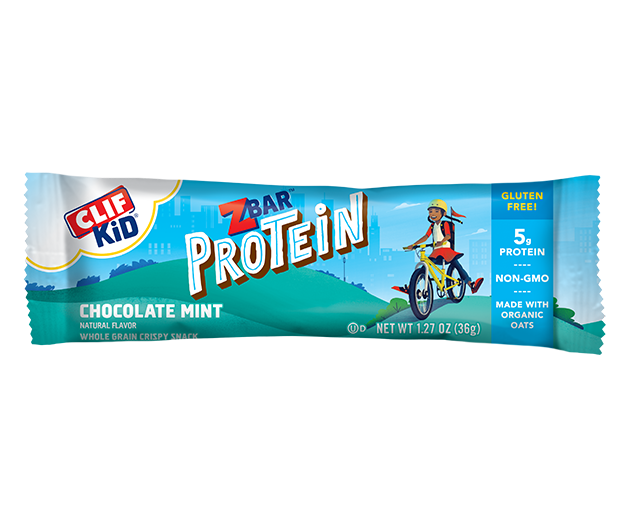 Chocolate Mint Protein packaging