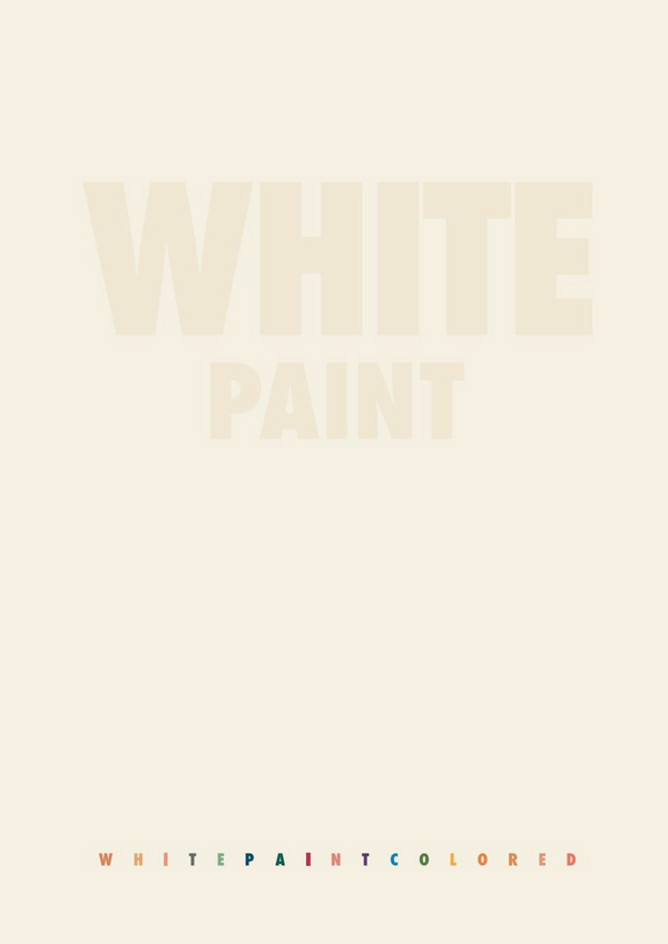 White Paint Brochure