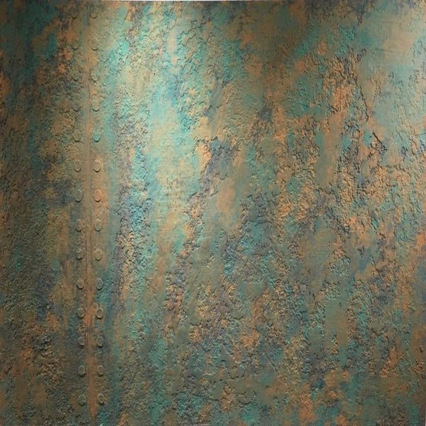 Copper Verdigris - Kit Copper - Stucco Veneziano UK,Polished Plaster - Venetian Plaster,Surfina - Giorgio Greasan, Stucco Veneziano UK - Surfina