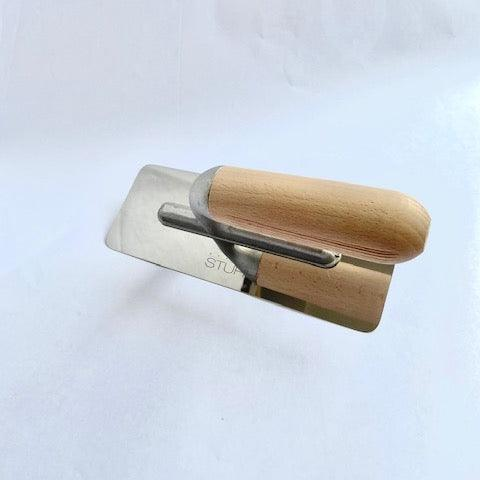 Large Polished Plaster Trowel - Kit/Nudo - Stucco Veneziano UK