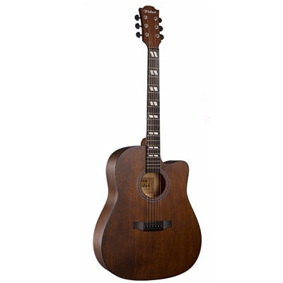 "Diduo Acoustic Guitar Top Quality Picea Asperata 41"" Brown Guitarra 6 Strings Guitar Spruce Musical Instruments AGT29"