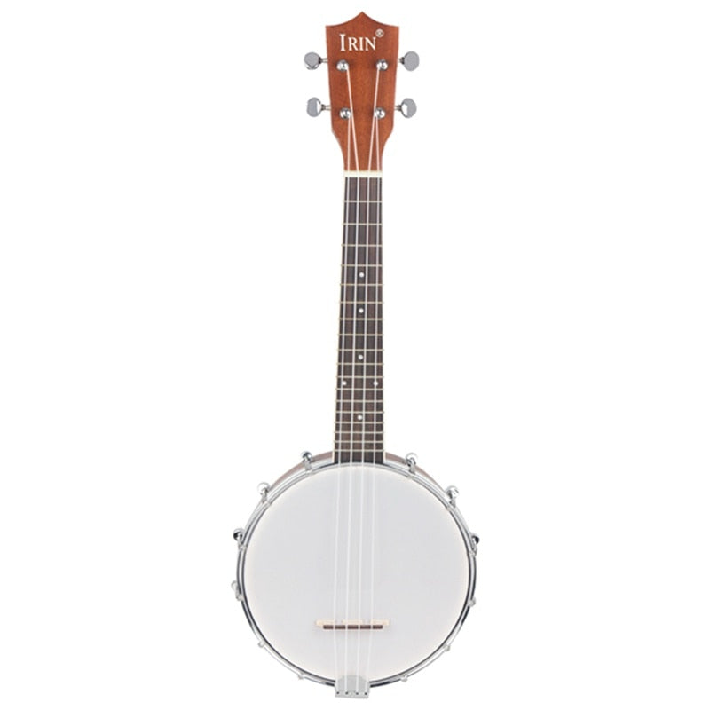 IRIN 23 inch Sapele Nylon 4 Strings Concert Banjo Uke Ukulele Bass Guitar Guitarra For Musical Stringed Instruments Lover Gift