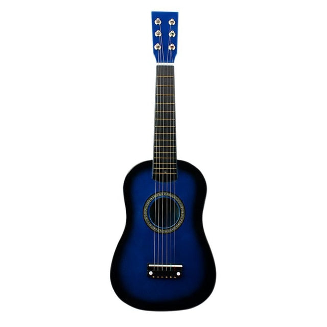IRIN Mini 23 Inch Basswood 12 Frets 6 String Acoustic Guitar with Pick and Strings for Kids / Beginners