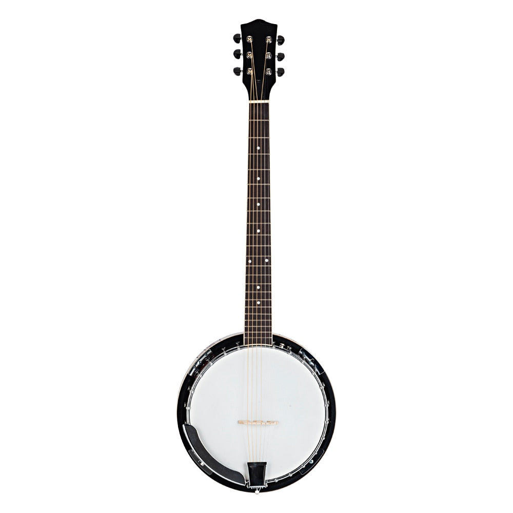 Top Grade Exquisite Professional Sapelli Notopleura Wood Alloy 6-string Banjo High Quality And Durable