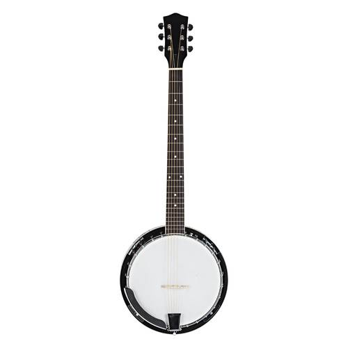 Top Grade Exquisite Professional Sapelli Notopleura Wood Alloy 6-string Banjo solid metal wood beginners Musical instrument