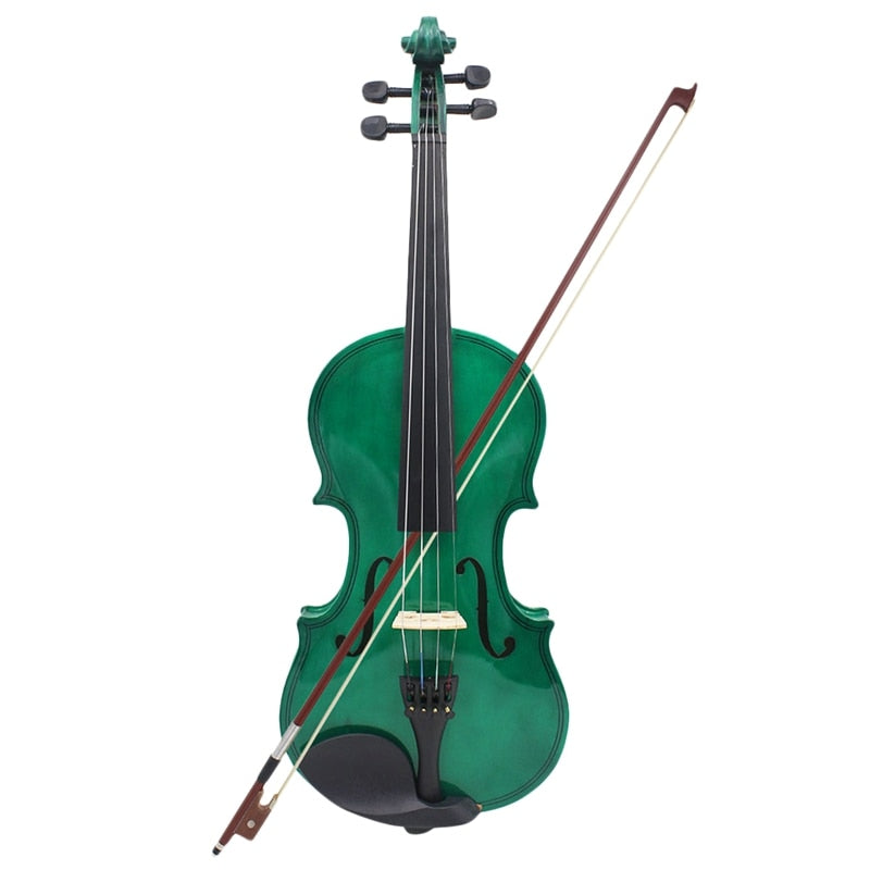 ABUO-4/4 Full Size Acoustic Violin Fiddle With Case Bow Rosin Violin