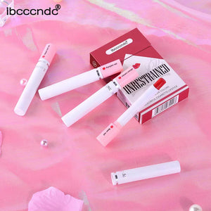 4 Pcs Velvet Matte Long Lasting Waterproof Cigarette Lipstick Set