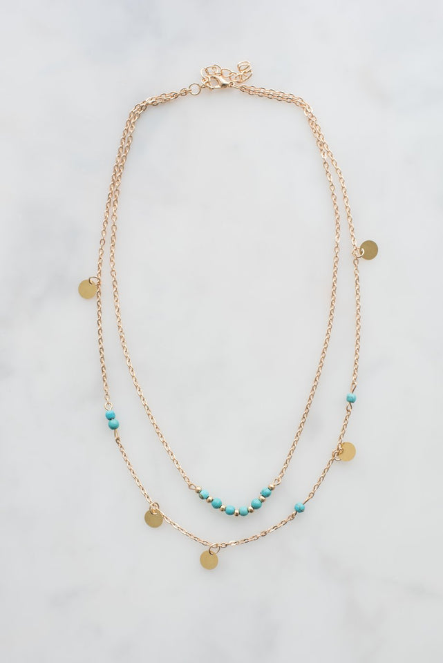 Pretty Gold Necklace