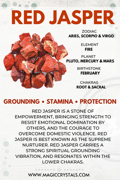 Red Jasper Meaning: Healing Properties and Everyday Use
